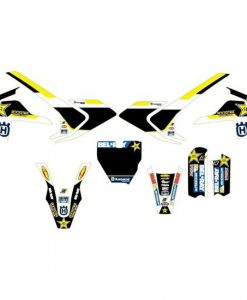Husqvarna TC65 Rockstar Energy Motocross Graphics Kit
