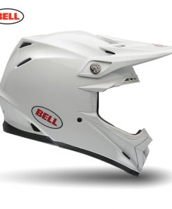 Bell MX Moto-9 Flex Adult Helmet Solid White