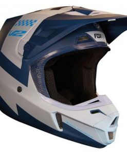 2018 Fox V2 Mastar Helmet Navy Blue