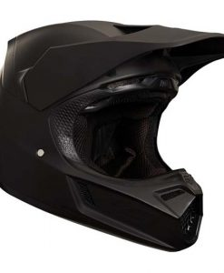 2018 Fox V3 Matte Carbon Helmet-Black