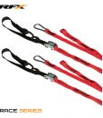 RFX Race Series 1.0 Tie Downs with extra loop & carabiner clip